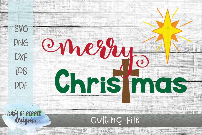 Merry Christmas SVG - A Christmas SVG example image 1