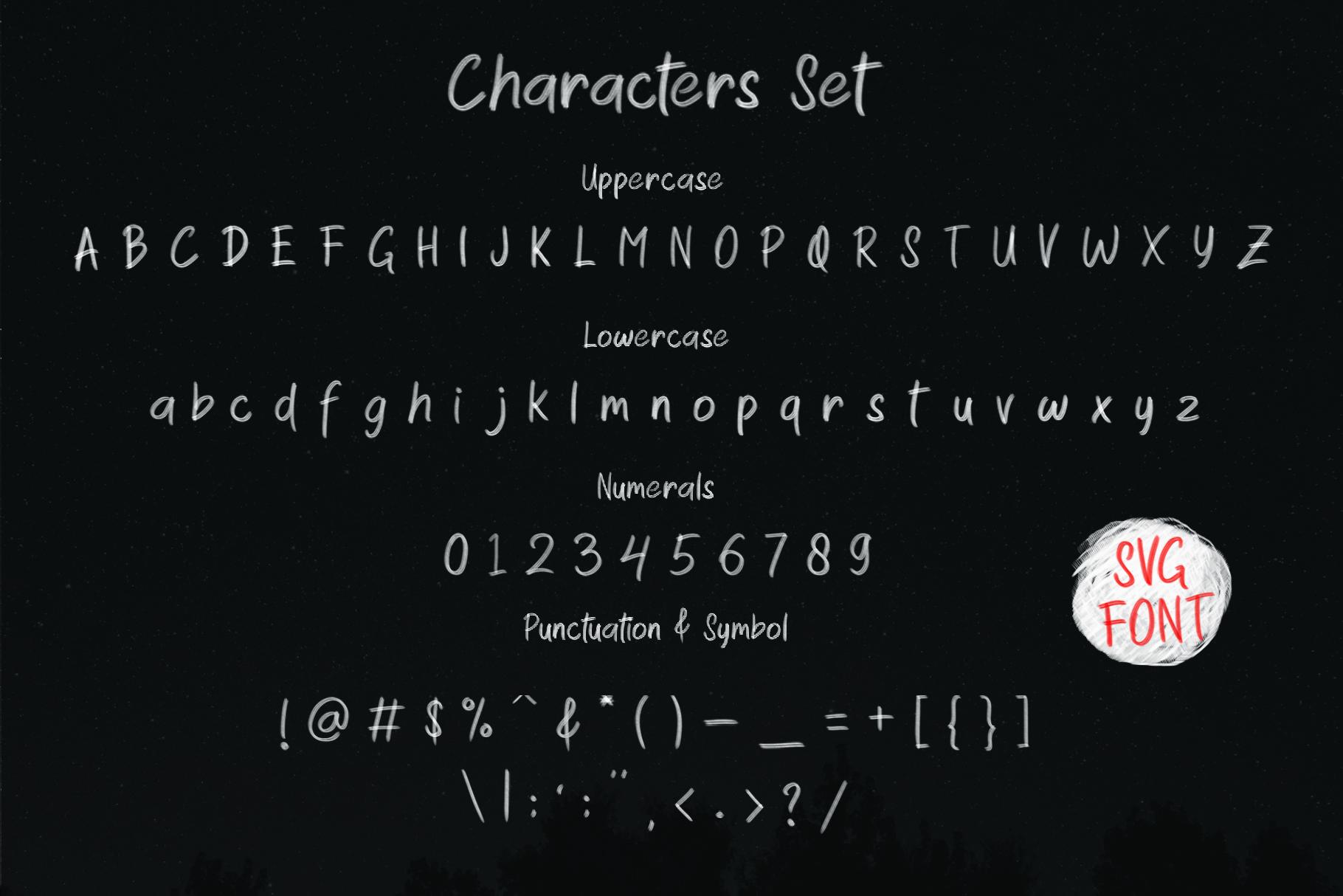 Wonder Blush SVG Font example image 2