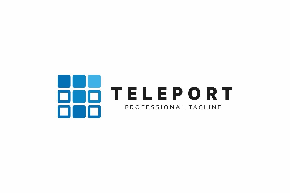 Teleport T Letter Logo example image 3