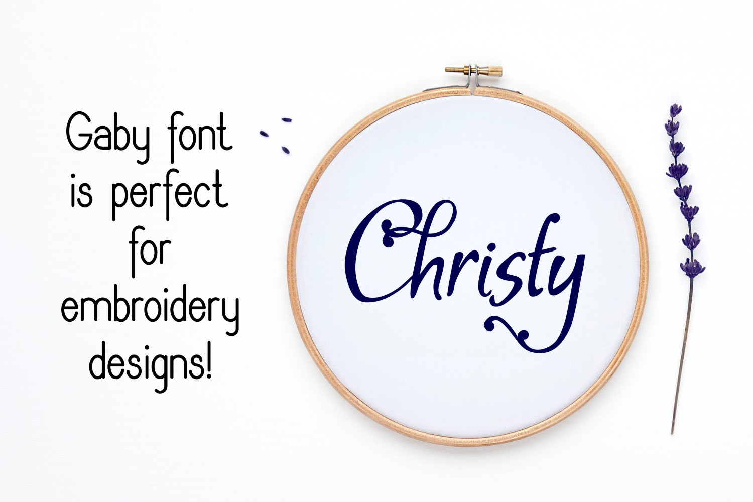 Gaby Font example image 5