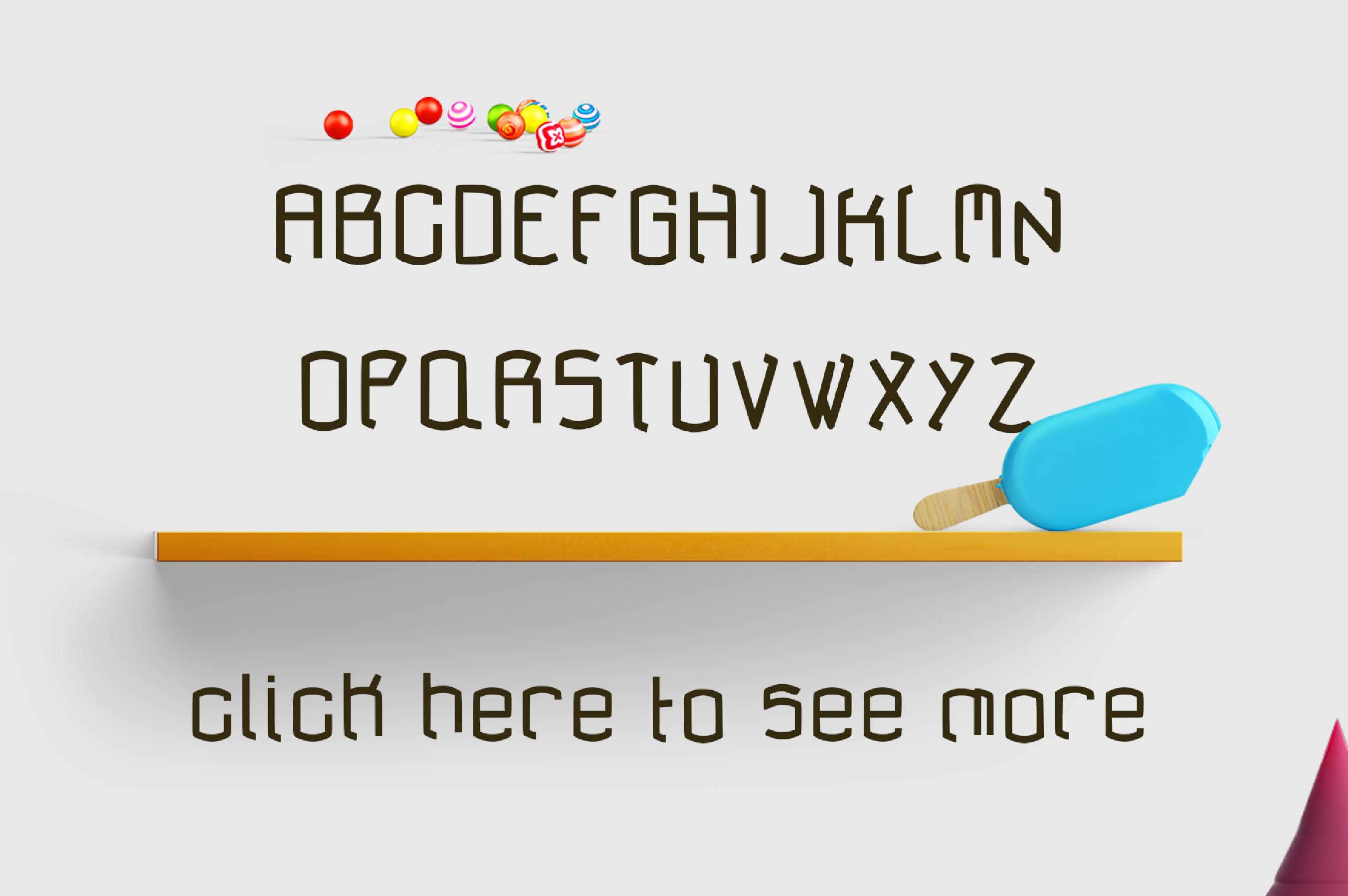 anlock - Typeface example image 5