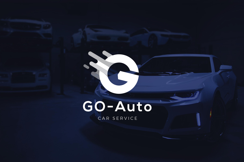 Letter G - Car Service Repair Logo example image 1