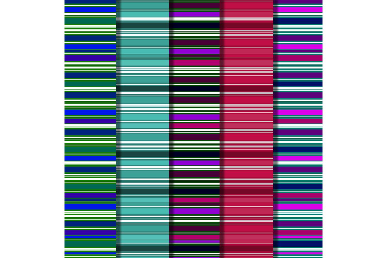 Striped Digital Paper Pack, Stripes Background,Color,sale example image 3