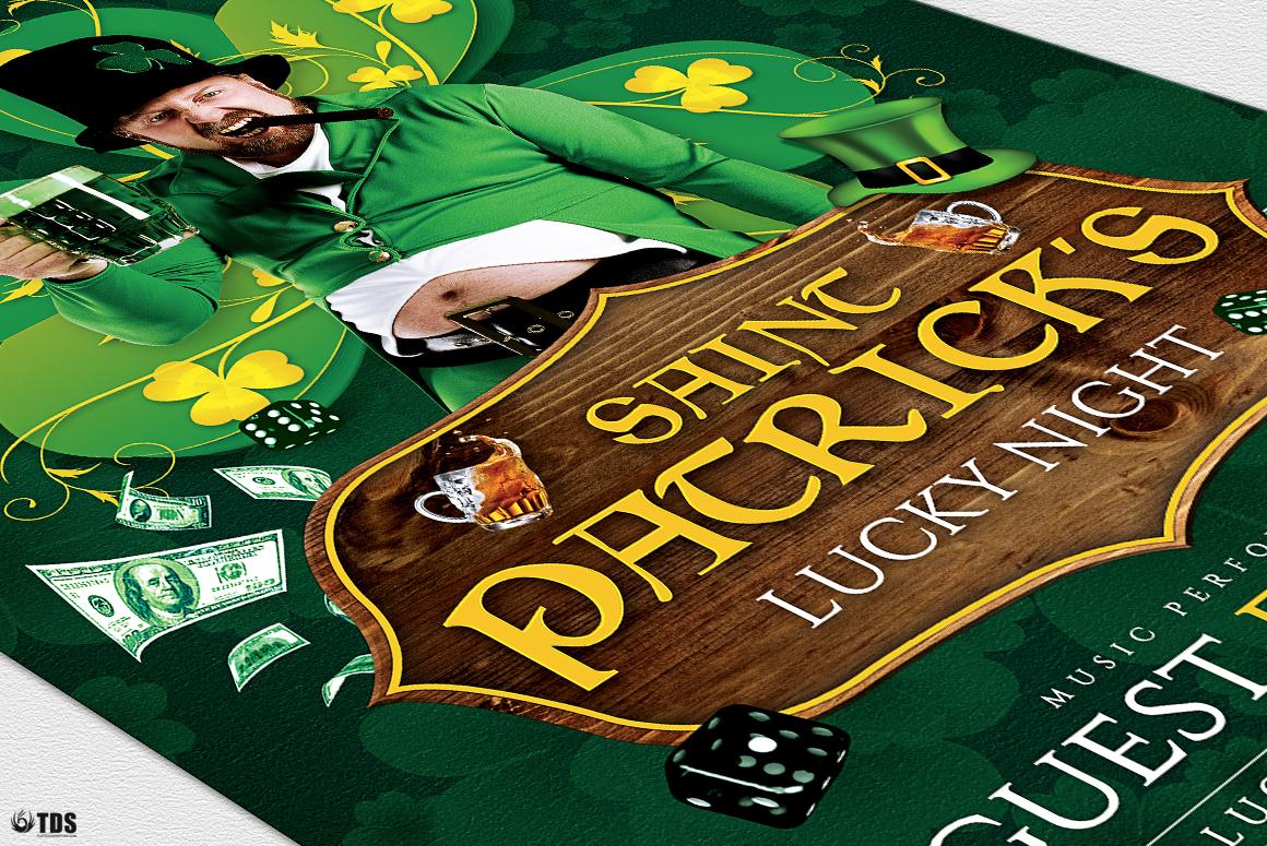 Saint Patricks Day Flyer Template V1 example image 6
