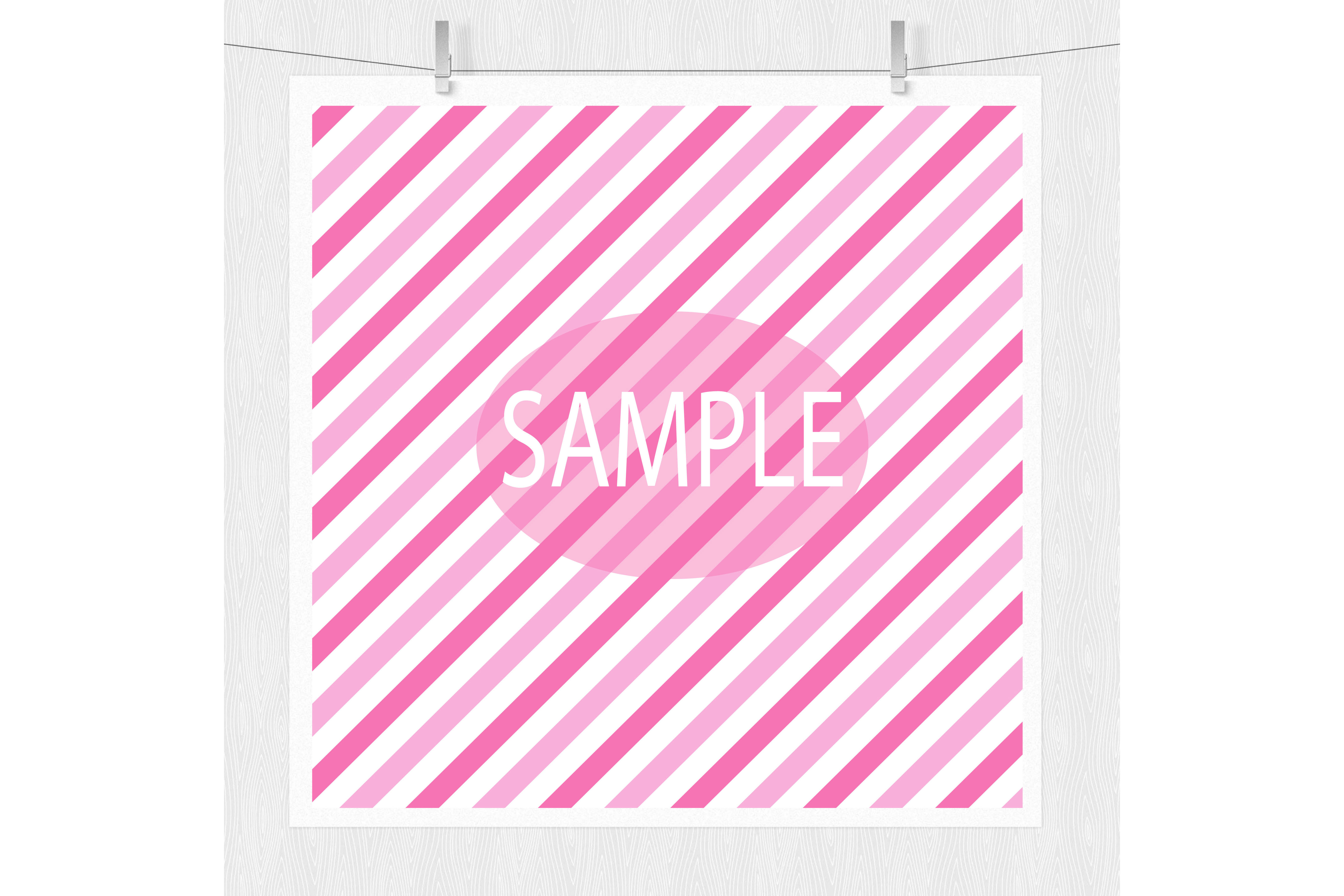 Pink Polka Dots and Stripes example image 4