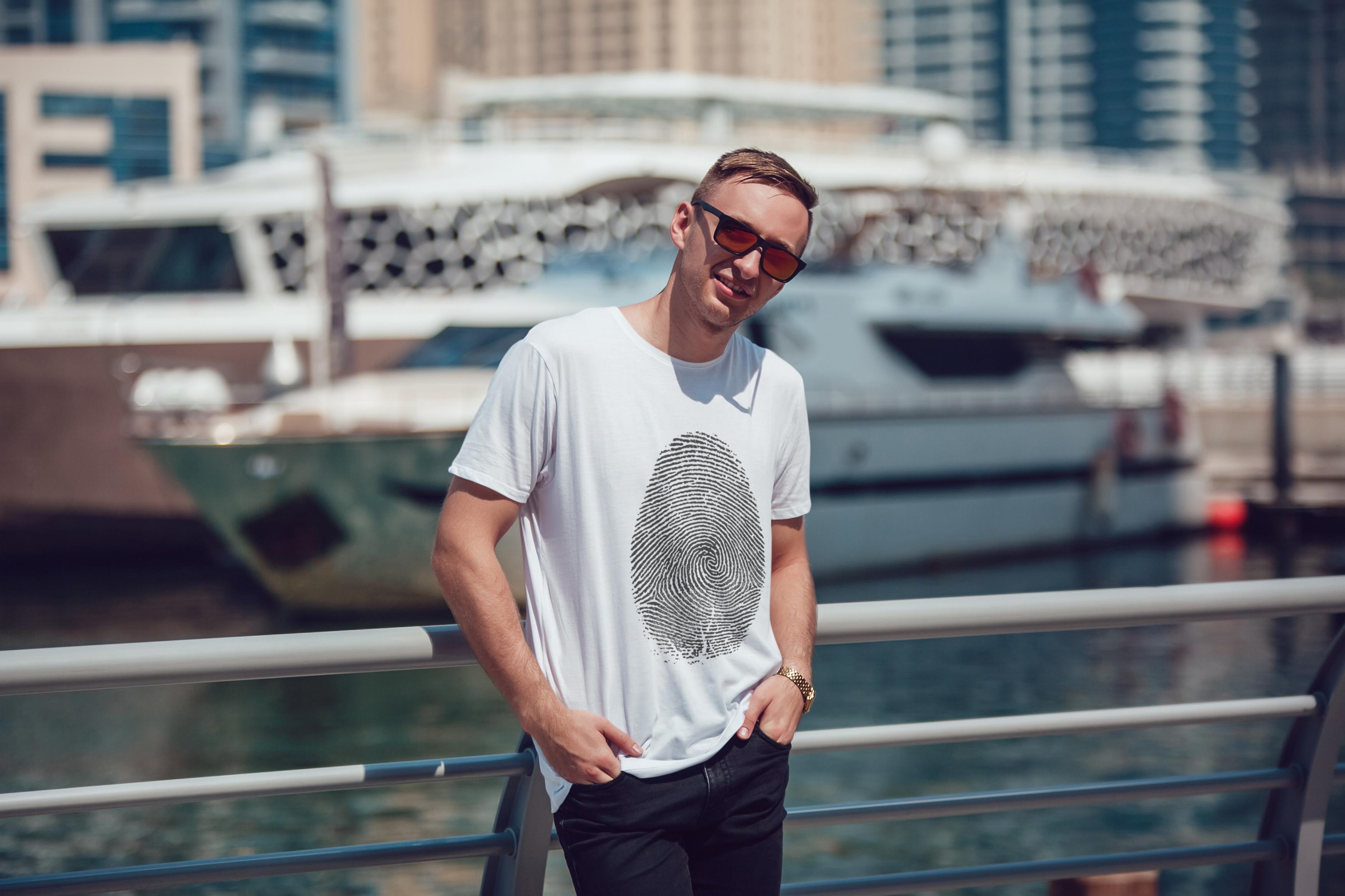 Men's T-Shirt Mock-Up Vol.5 2017 example image 17