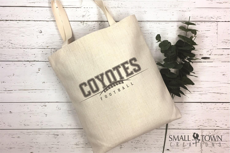 Coyote, Football Team, Logo, Sport, PRINT, CUT & DESIGN example image 4