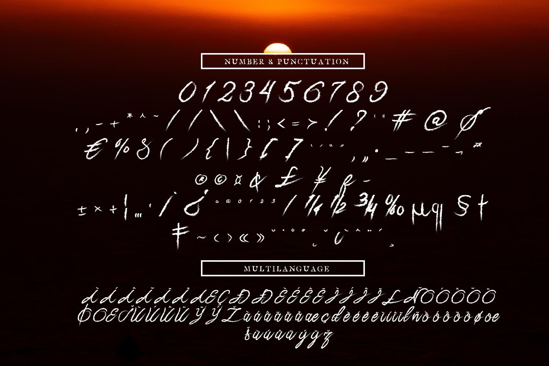 Naylah Script Brush Font example image 9