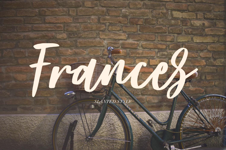 Frances Modern Font example image 10