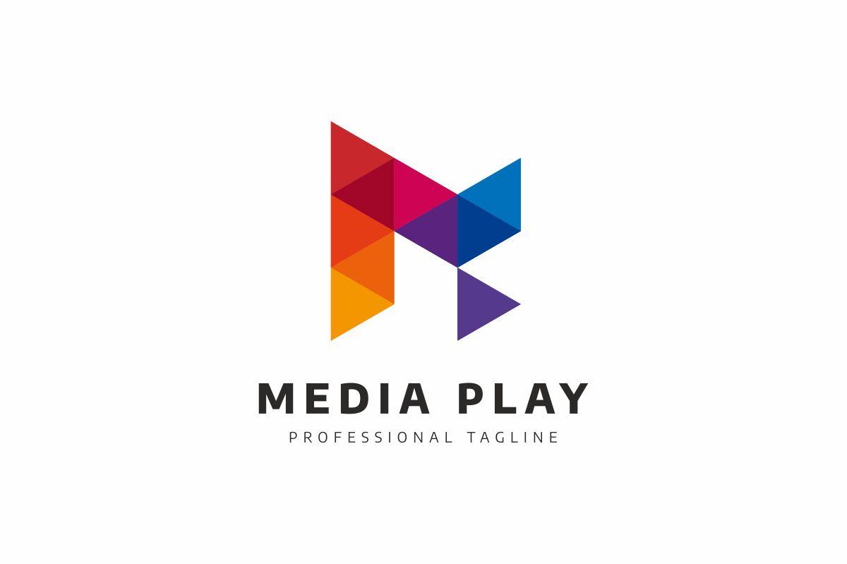 Media Play Logo example image 2