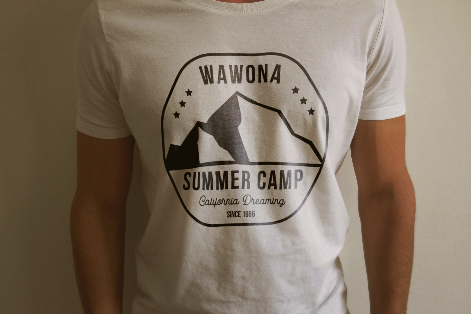 Summer Camp Logo Template, Retro California Badge SVG File example image 3