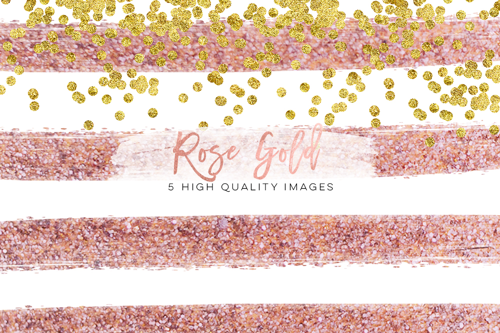 black and rose gold paper, Rose Gold and Black Digital Paper, back rose gold scrapbook paper, Glitz and Roses commercial use, Confetti example image 3