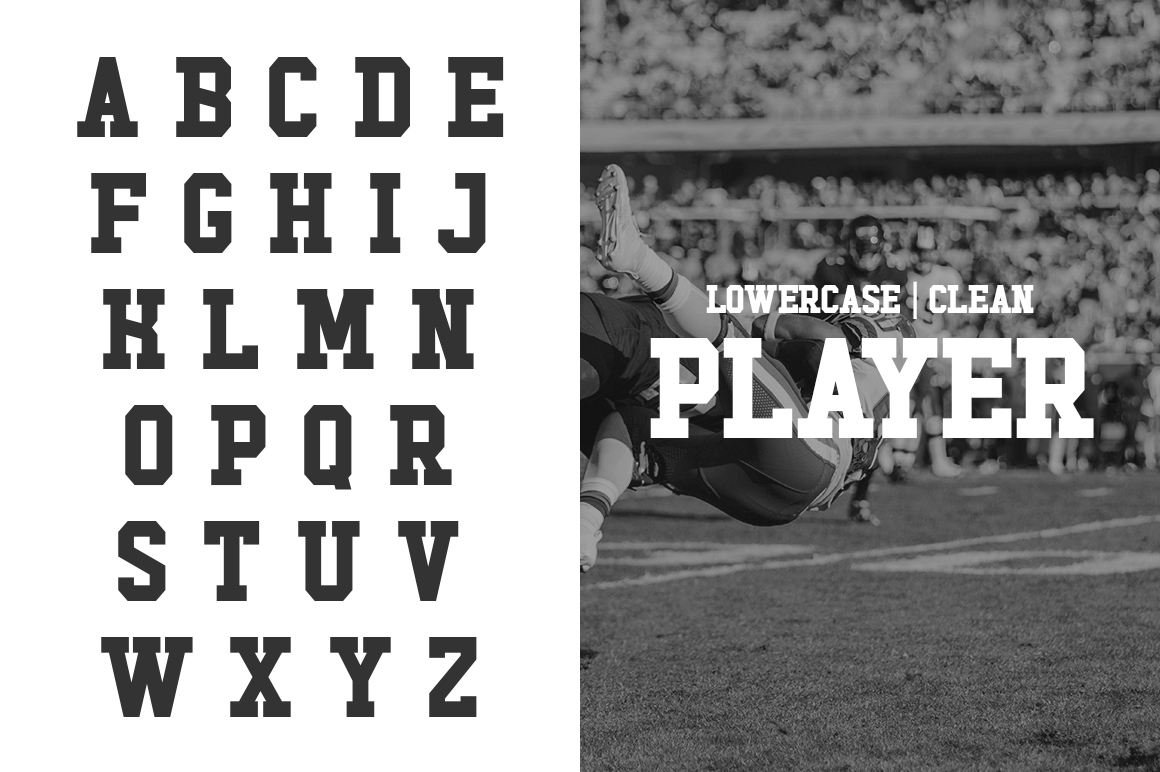 Touchdown Slab Font example image 3