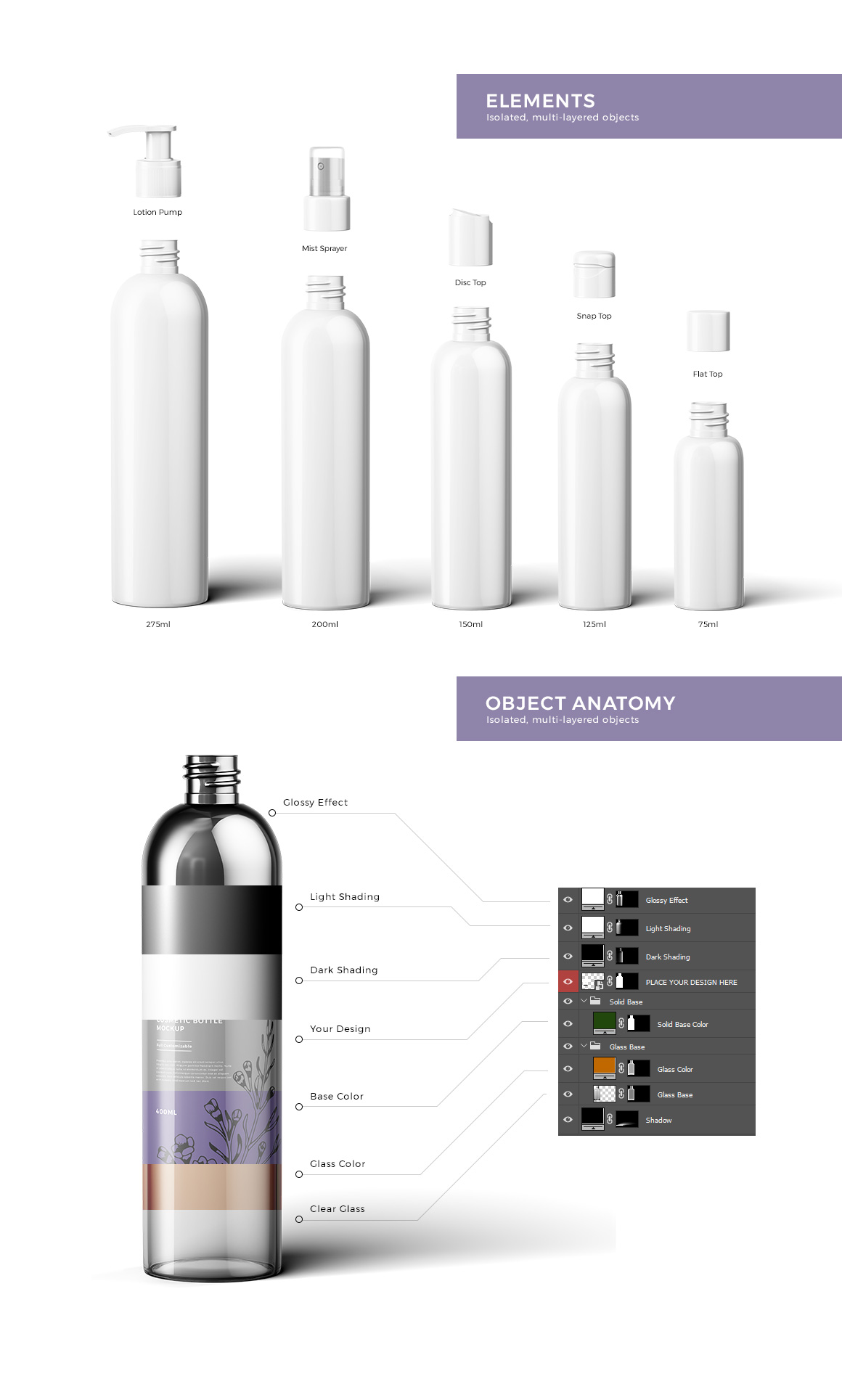 Cosmetic Bottles Mockup Vol.3 example image 3