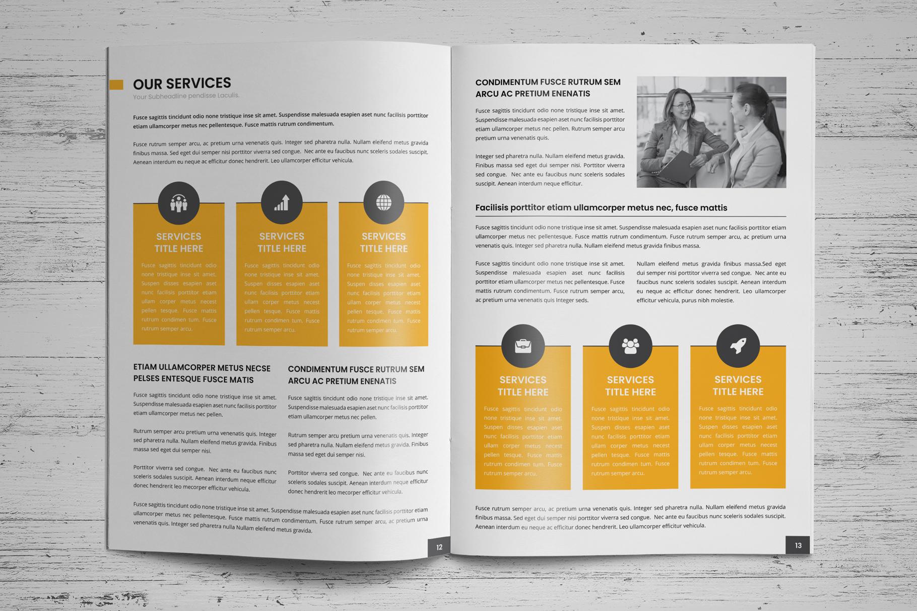 Company Profile Brochure v7 example image 9