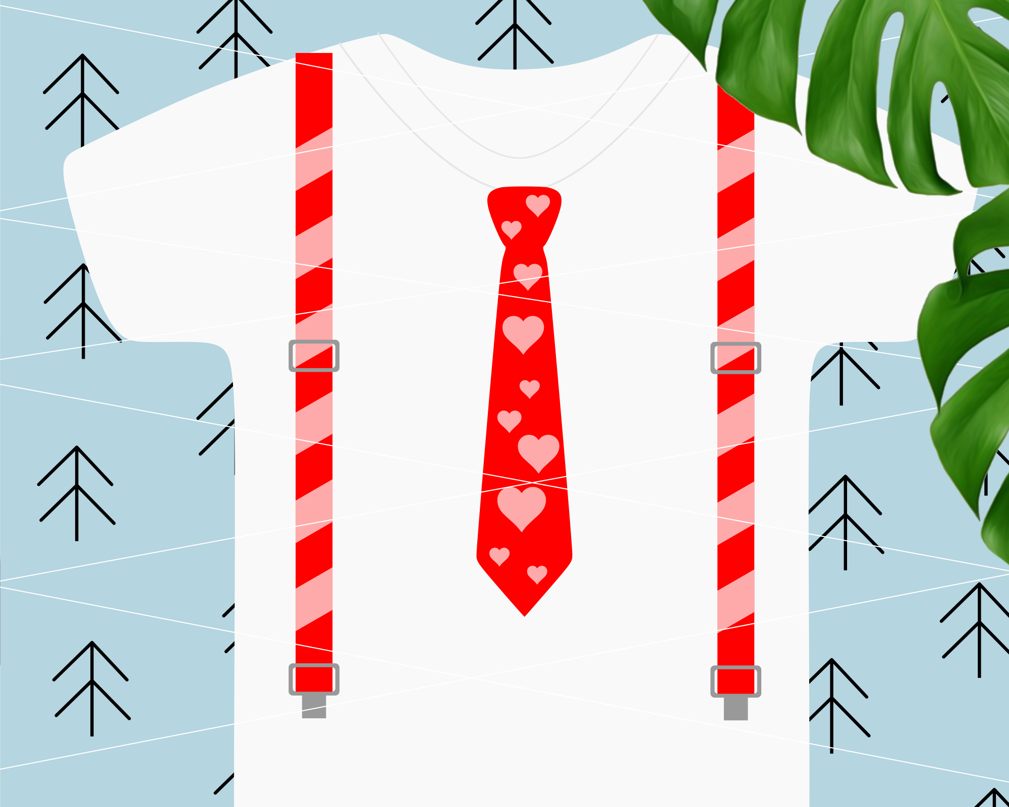 Suspenders svg example image 2