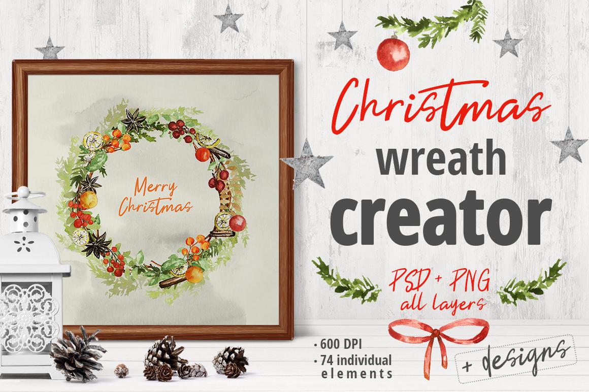 Christmas Wreath Creator example image 1