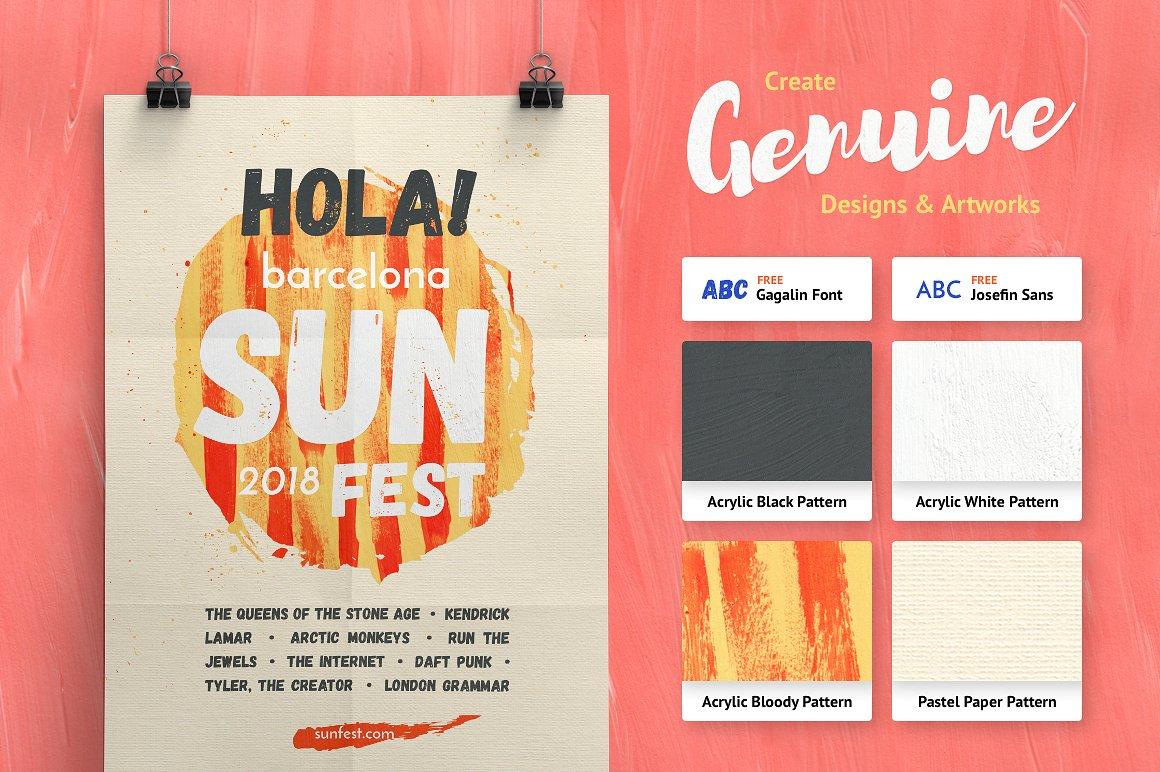 Artistic Studio: Acrylic Toolkit example image 4
