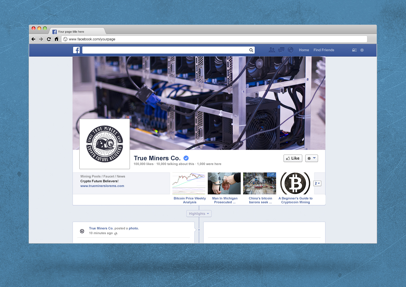 Bitcoin & Blockchain Vintage Emblems / SVG / EPS Files example image 8