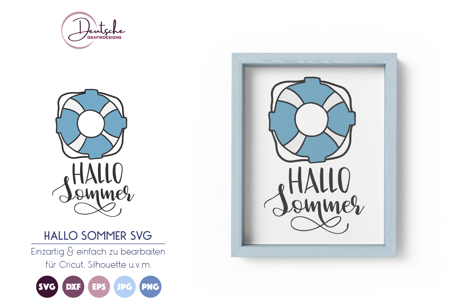 Hallo Sommer SVG example image 1