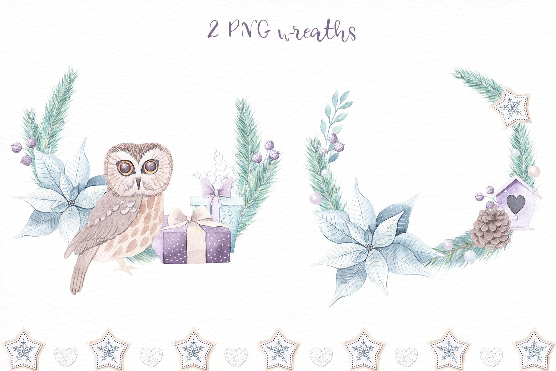 Christmas Dreams vol.2 - Watercolor Set example image 7