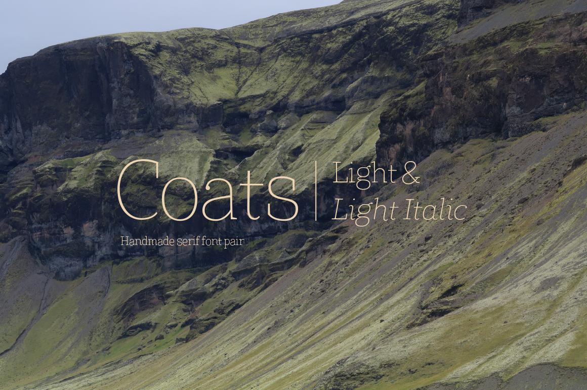 Coats Light & Coats Light Italic example image 1