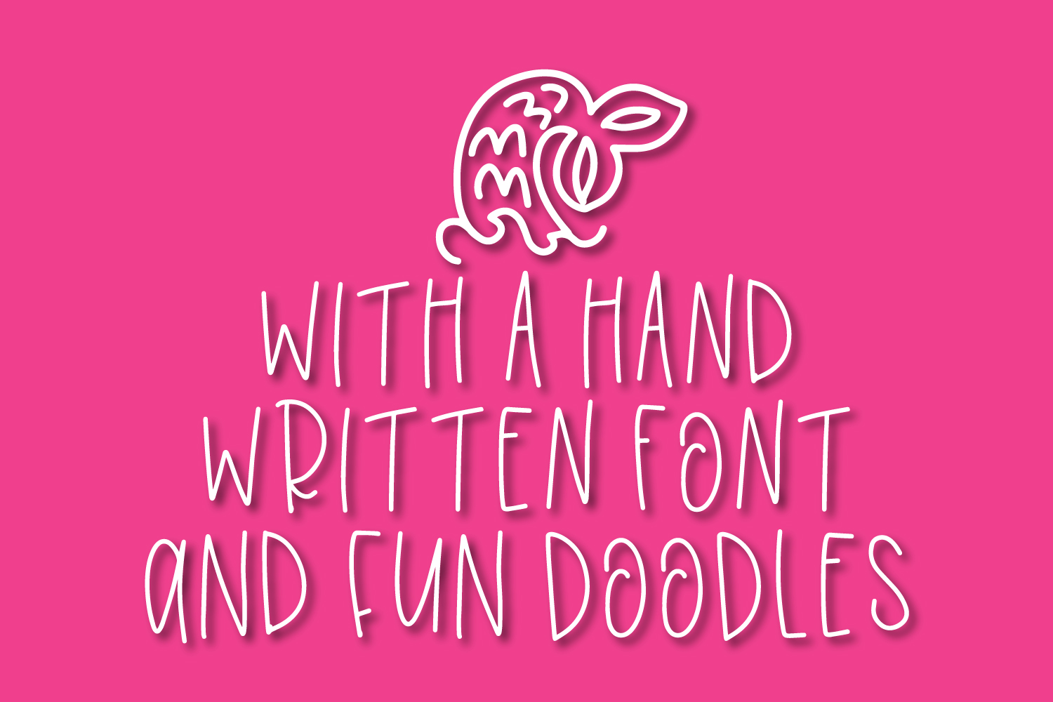 Overboard - A Mermaid Font Duo - Dingbat Font example image 4