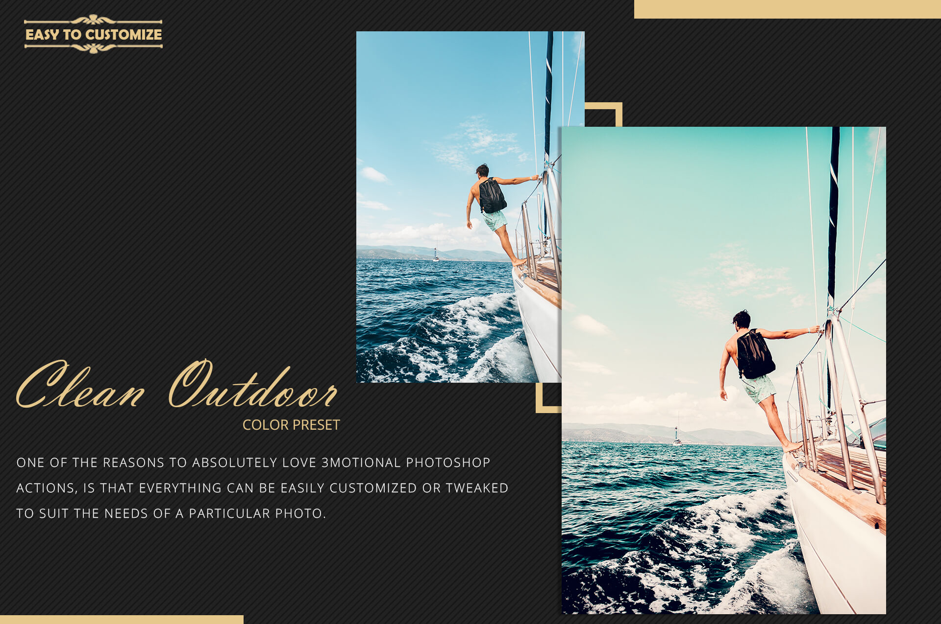 Neo Clean Outdoor Color grading Photoshop Actions example image 10