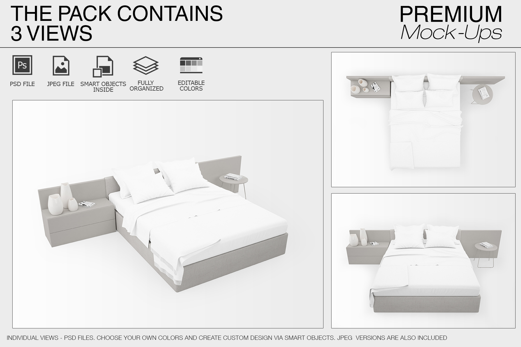 Bedding Mockup Set example image 7
