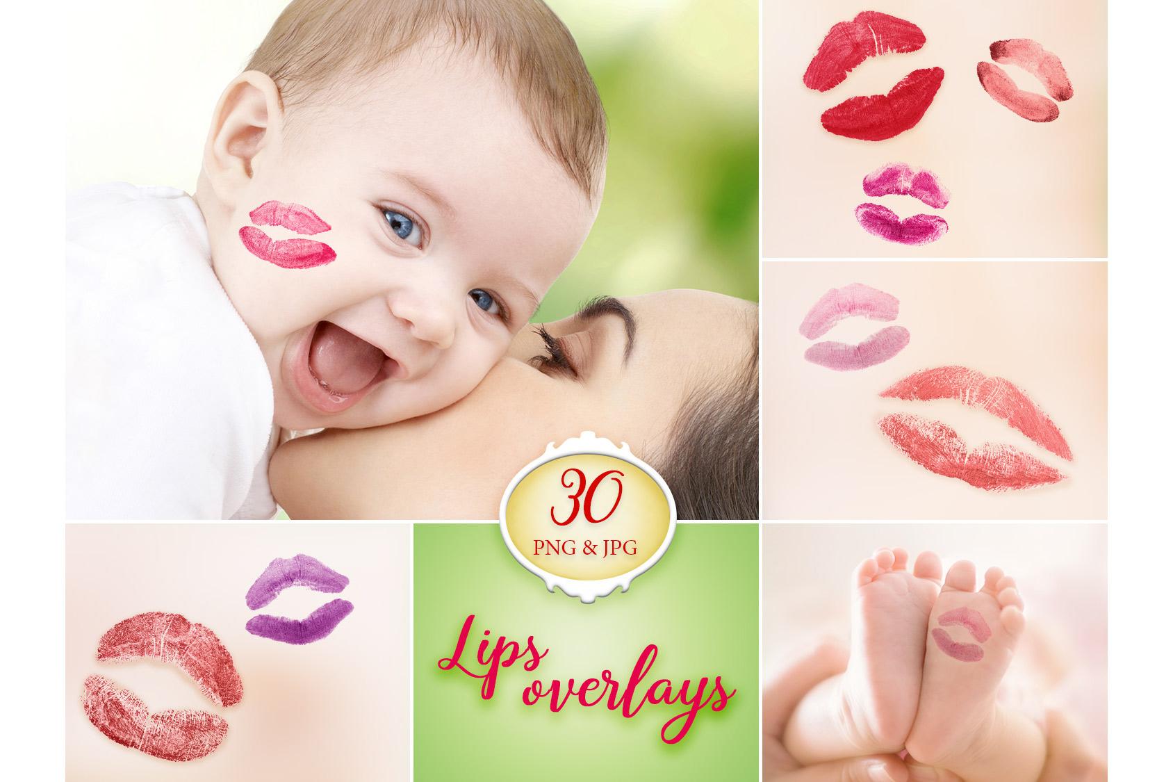 30 Lips Photo Overlays example image 1