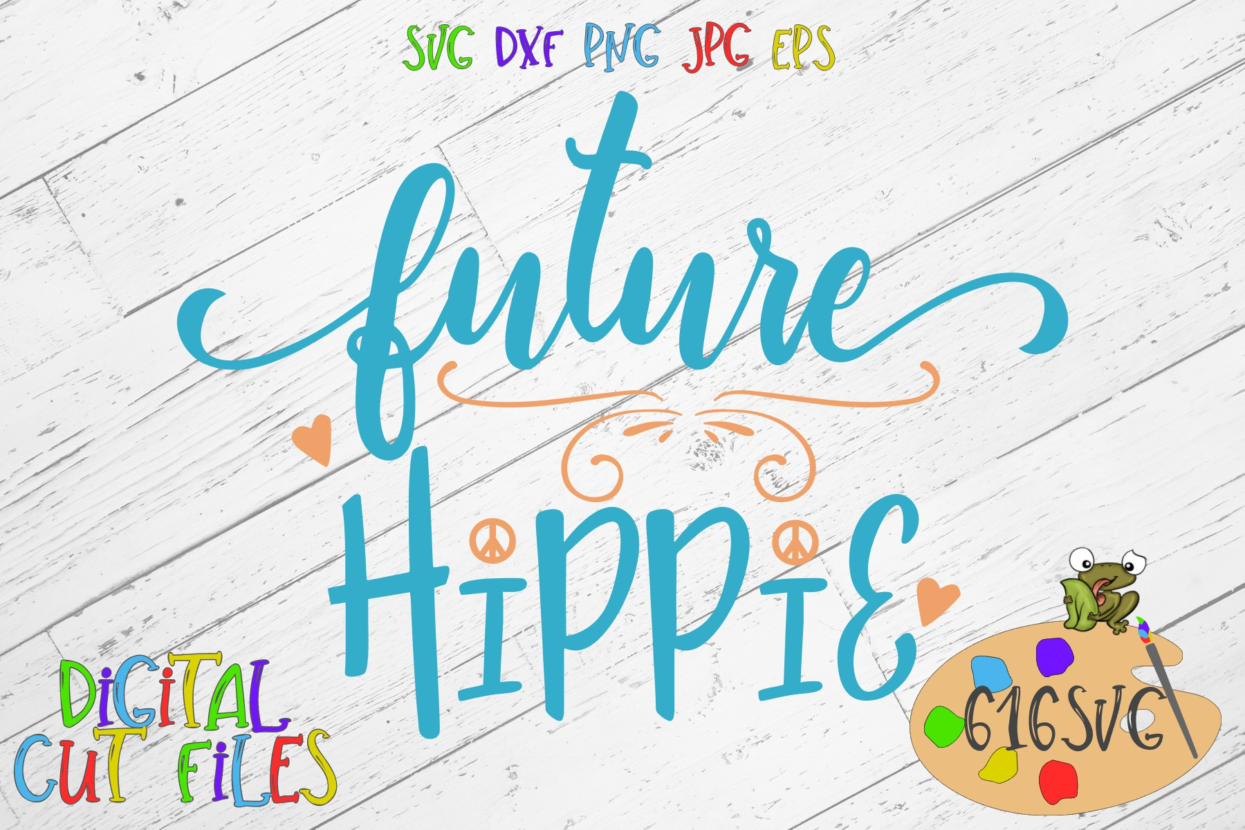 Future Hippie SVG example image 2