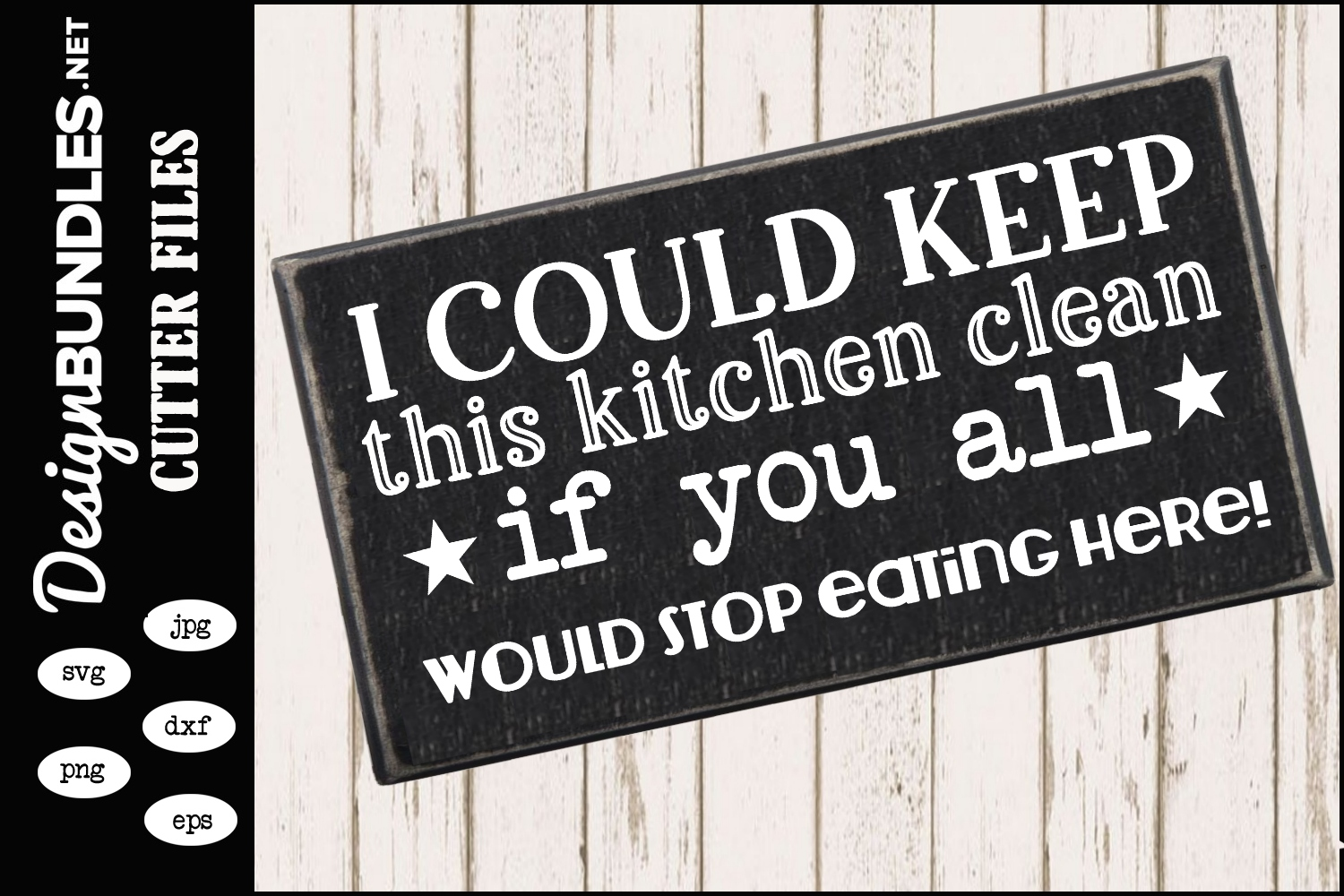 Clean Kitchen SVG example image 1