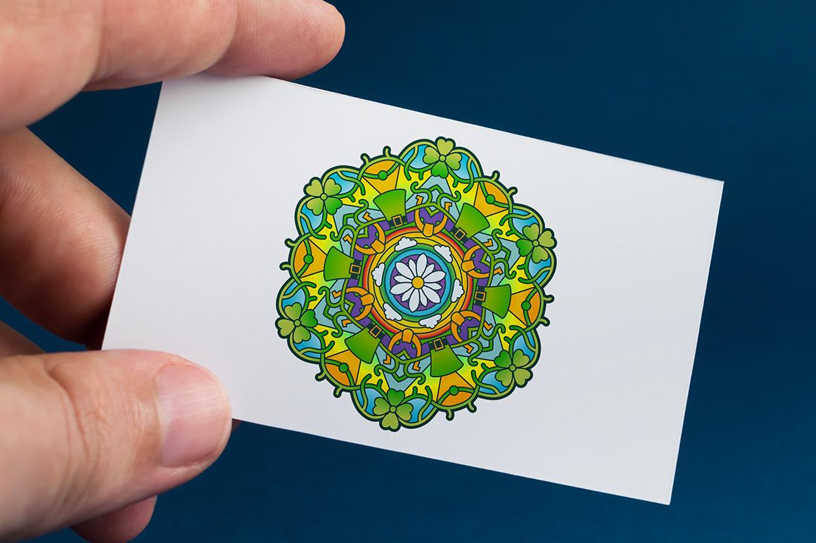 Seasonal and Holiday Mandalas example image 13