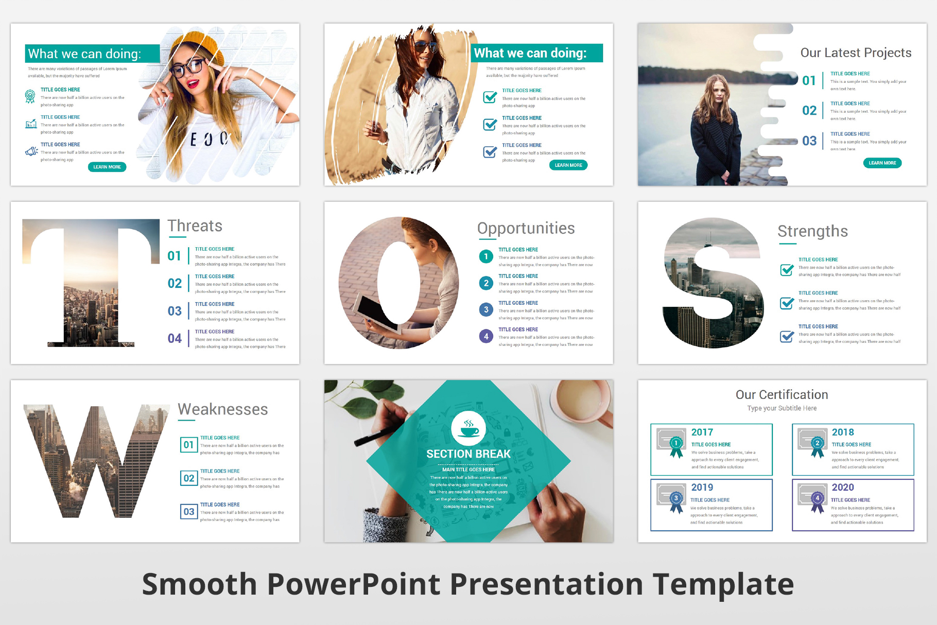 Smooth multipurpose PowerPoint Presentation Template example image 10