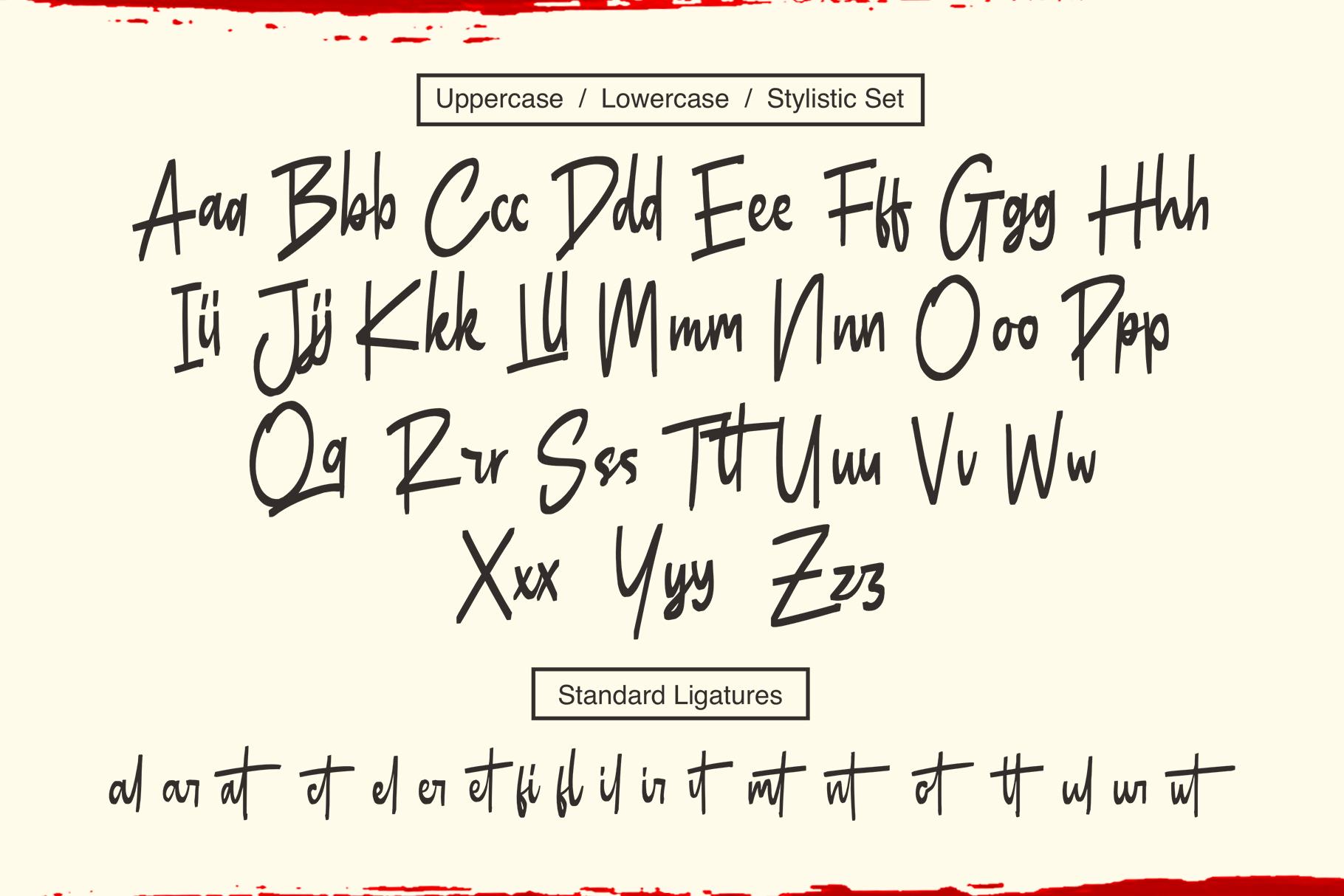 Butner - Marker Font example image 7