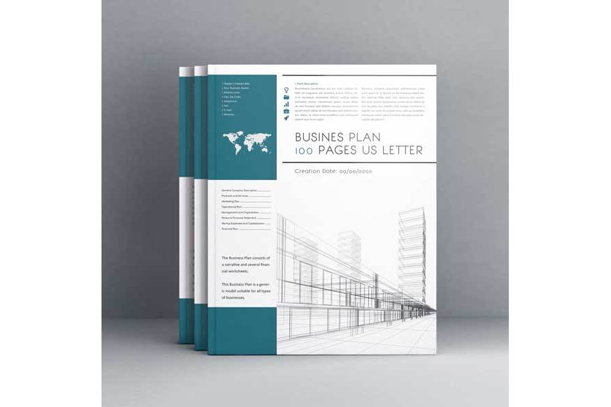 Business Plan 100 Pages Us Letter example image 2