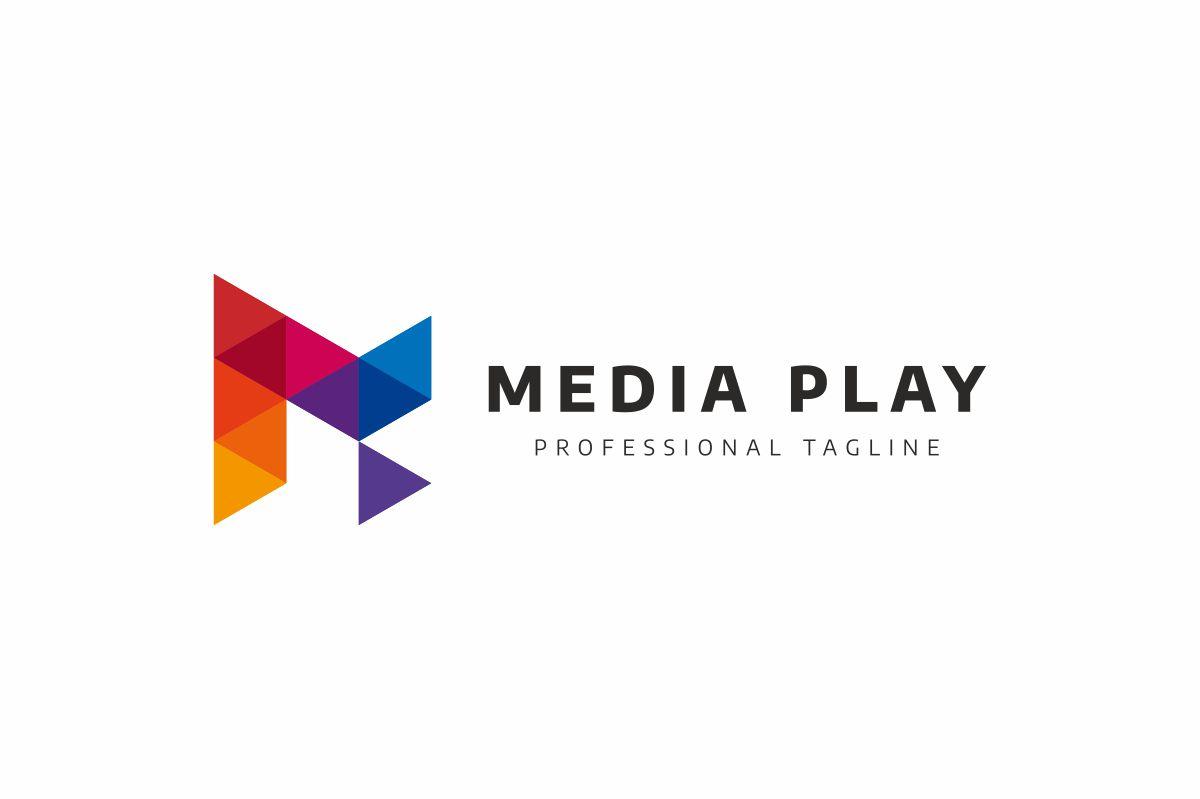 Media Play Logo example image 4