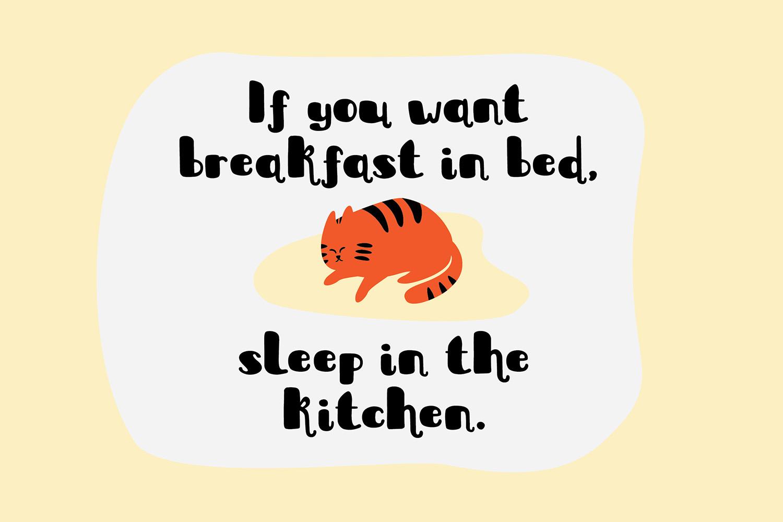 Sleepy Fat Cat example image 8