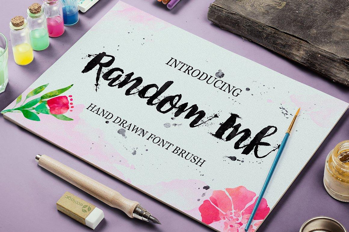 Random Ink example image 1