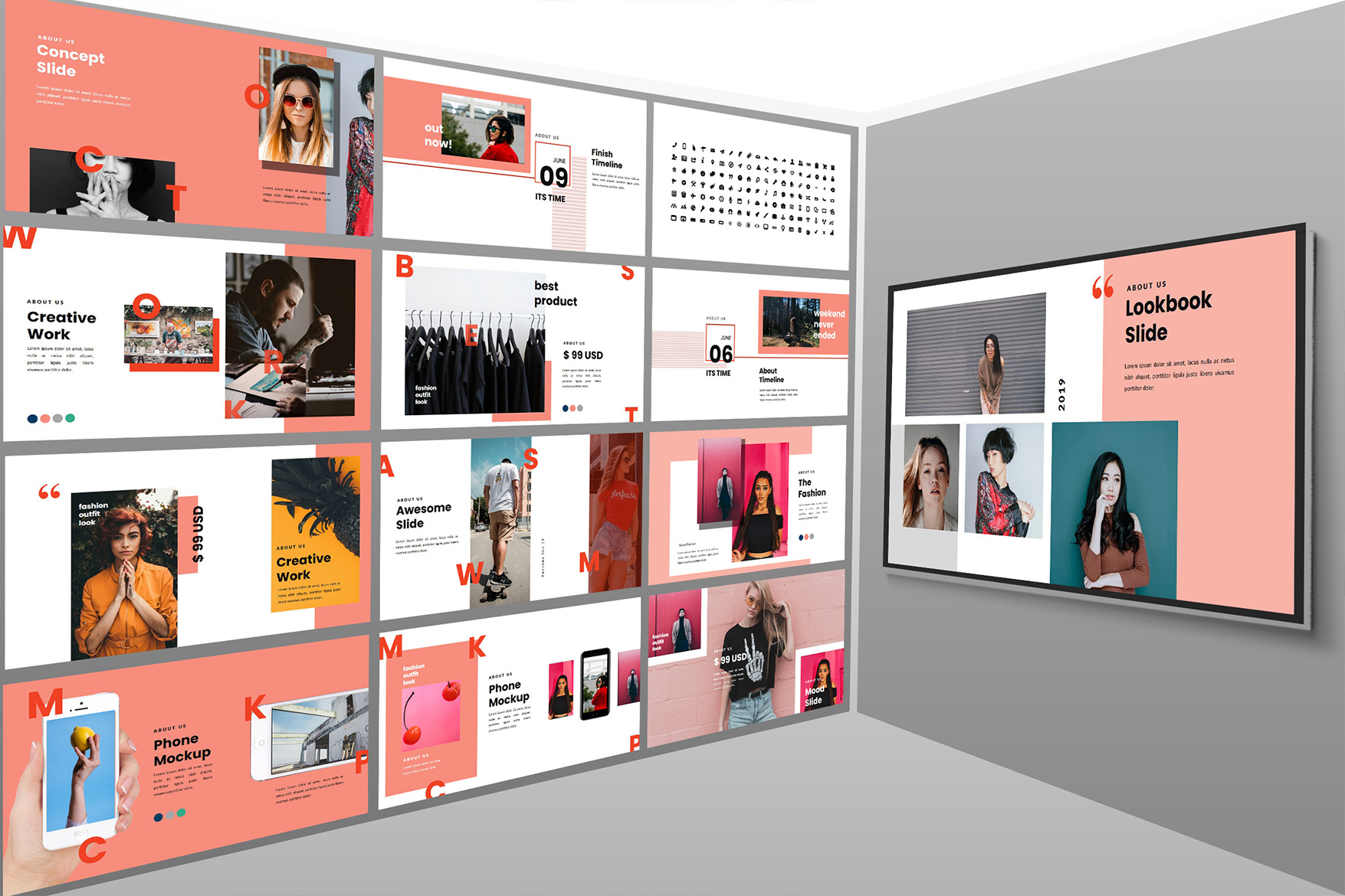 The Script Lookbook - Keynote Template example image 6