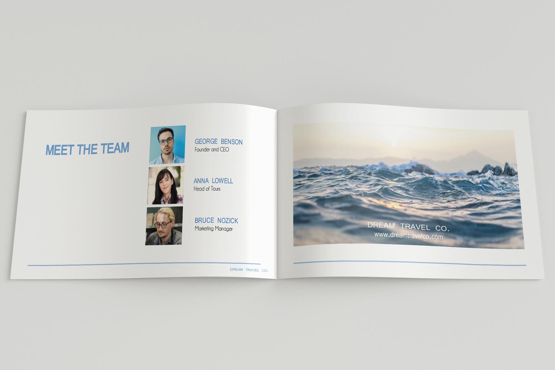 Travel Agency Printable Catalogue - A5-26 PSD Templates example image 14