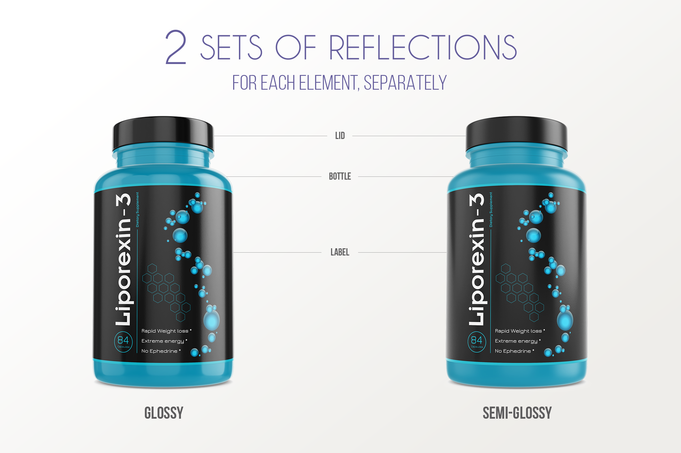 Dietary Supplement Mockup v. 1B example image 4