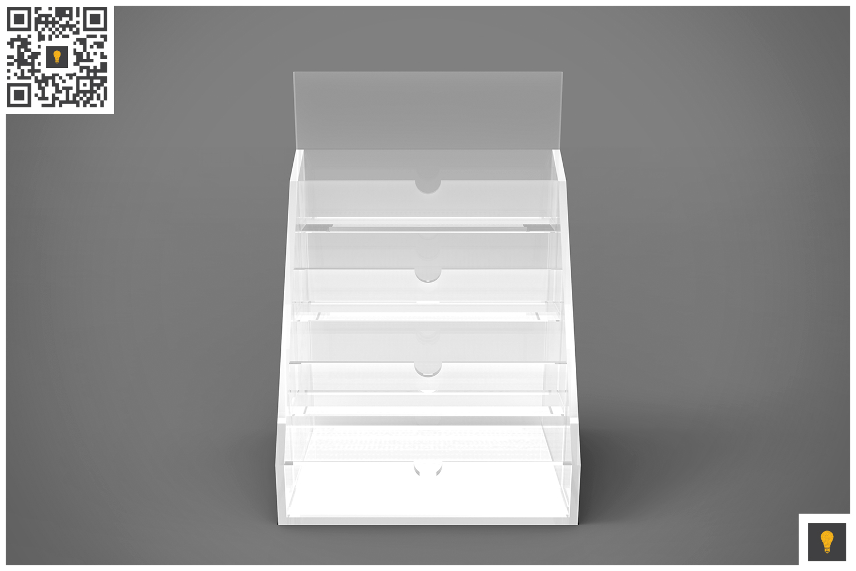 Business Card Holder 3D Render example image 4