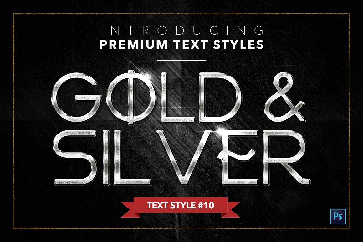Gold & Silver #4 - 20 Text Styles example image 14