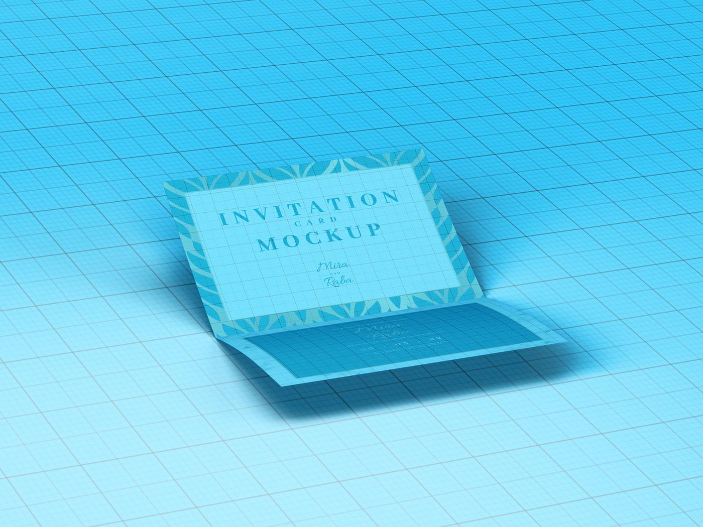 Invitation Card Mockups V1 example image 16