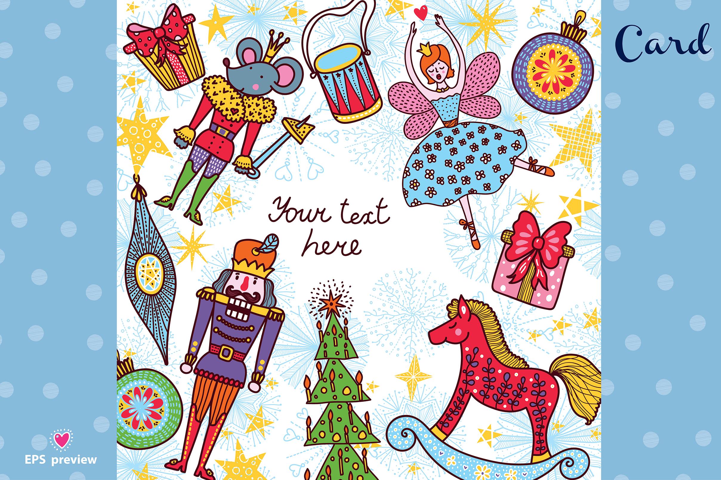 Nutcracker. Christmas story. example image 16