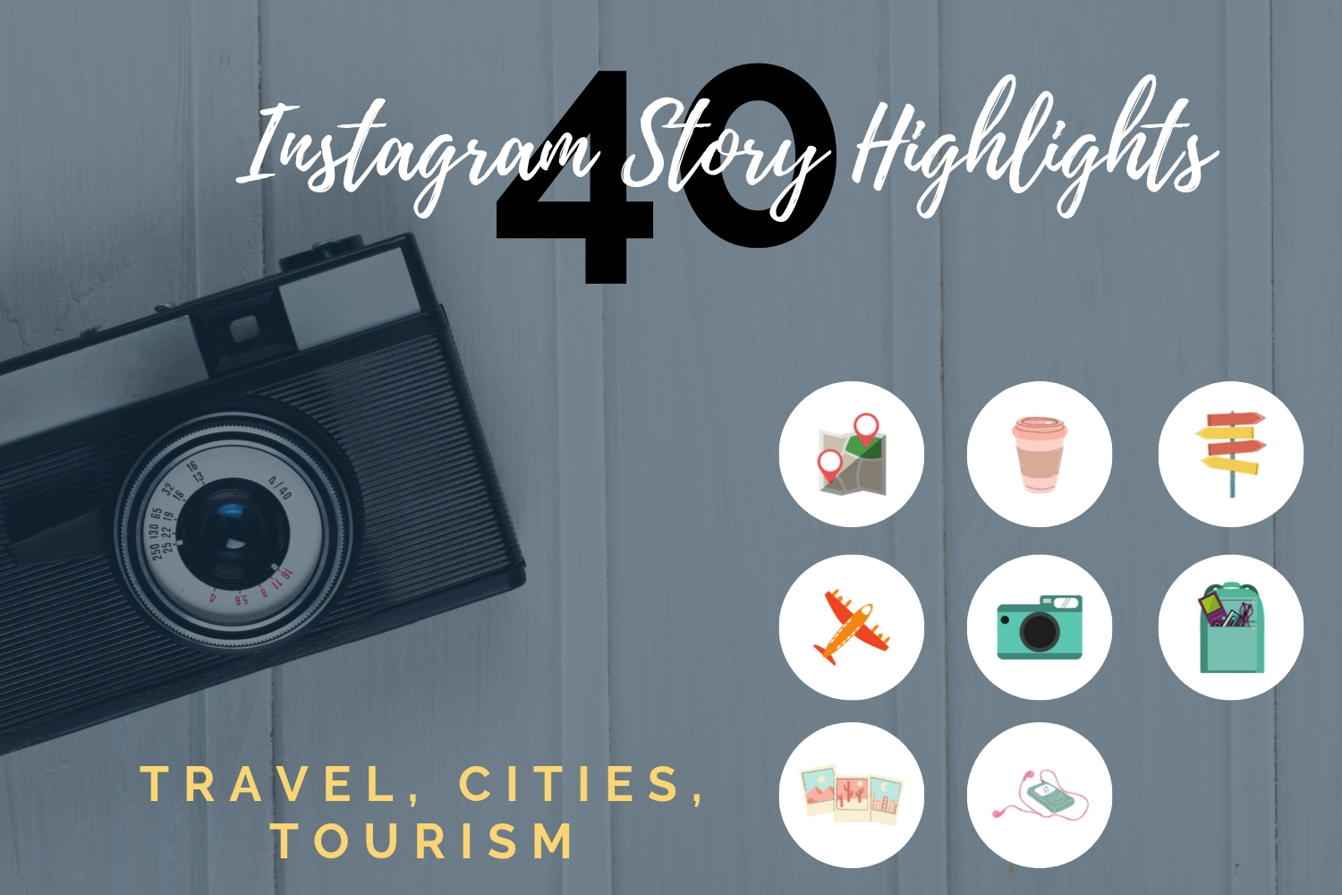 Instagram Story Highlights- Travel, Tourism, Cities example image 3