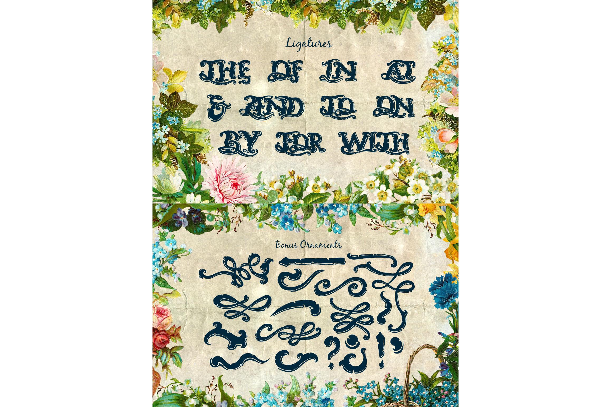 Neverland Handmade Font example image 3
