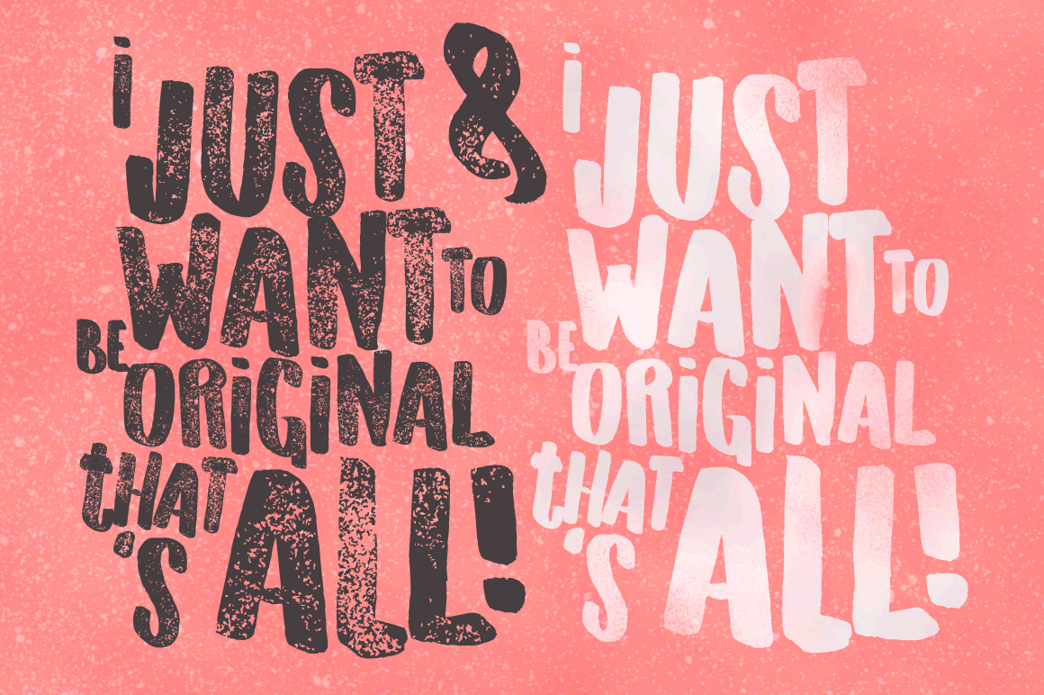 Originals Typeface example image 4