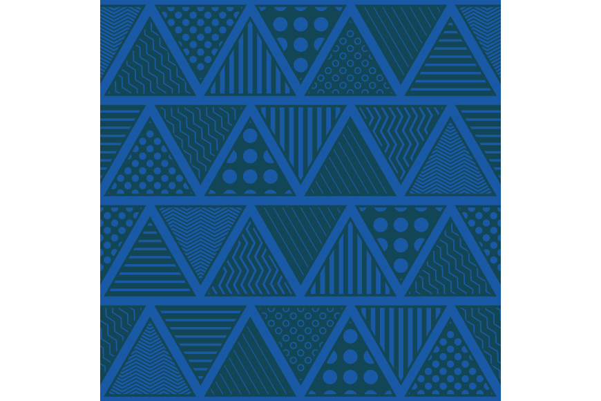 Set of 12 seamless vector backgrounds with abstract geometric pattern.  example image 13